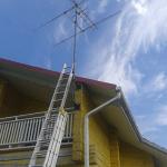 Установка эфирной антенны